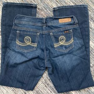 Seven bootcut stretch jeans